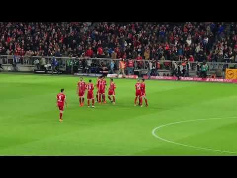 Bayern München Lightshow 28.10.2017 ( Spiel gegen RB Leipzig )