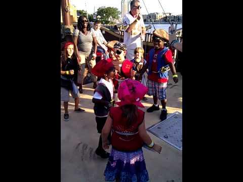 Urban pirates dance