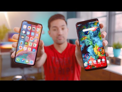 Apple iPhone X vs Samsung Galaxy S9 Plus!