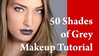 50 SHADES OF GREY inspired makeup look with fashion model MASHA BACER Thumbnail