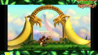 Donkey Kong Country Returns ( 2 Extras + El Templo Dorado ) Parte 38 Final / Adiós!