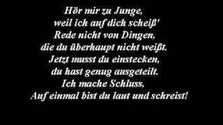Weil ich auf dich scheiß - BILLY  feat EKO FRESH