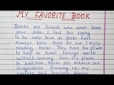 Write an essay on My favorite book | Essay Writing | English