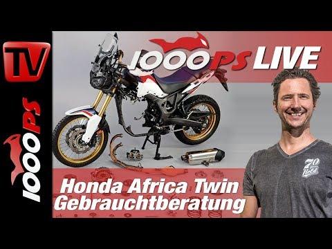 Honda Africa Twin - Gebrauchtberatung - MOTORRAD 50.000 km Test