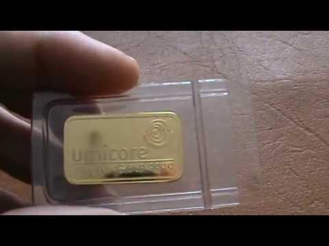 Lingot d'or 10 grammes Umicore