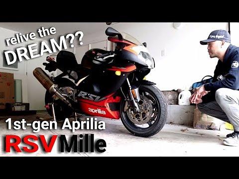 1st-Gen Aprilia RSV Mille | Relive the DREAM??