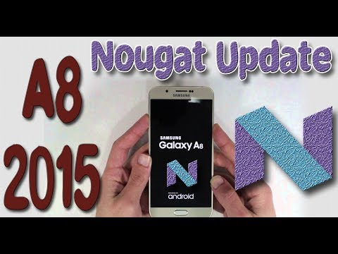 Samsung Galaxy A8 (2015) Receiving Android Nougat 7 Update