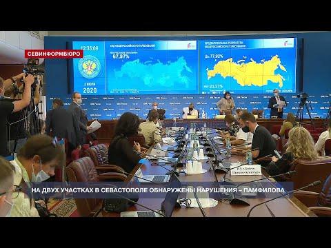 НТС Севастополь: Памфилова рассказала о нарушениях при голосовании в Севастополе