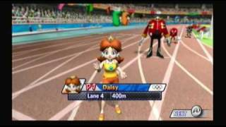 Mario and Sonic at the Olympic Games Athletics: 400 meters