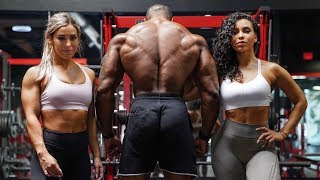 MASSIVE BACK ROUTINE WITH CASS MARTIN & CHANEL COCO BROWN
