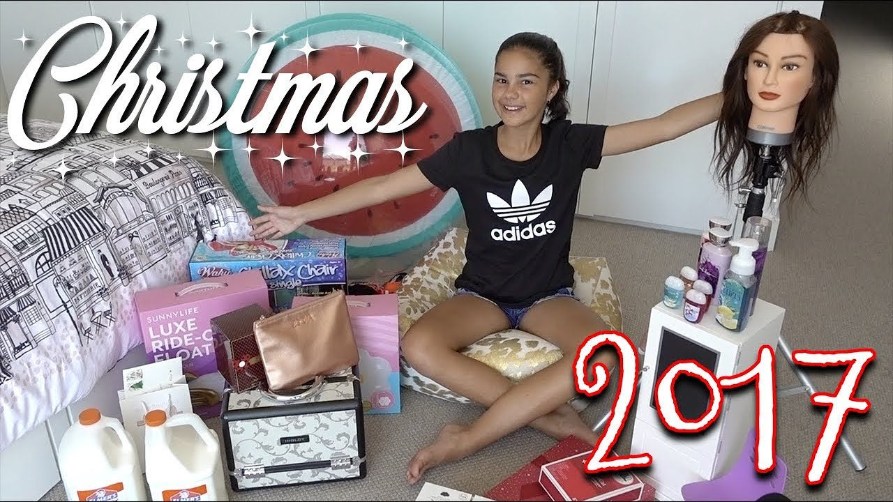 What I Got for Christmas 2017 | Grace's Room