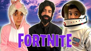 connectYoutube - Fortnite Songs In Real Life!! - Kids Parody