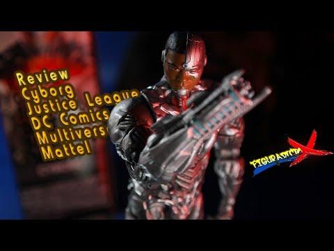 Review Cyborg Justice League DC Comics Multiverse Mattel Movie Action Figure Revision Español