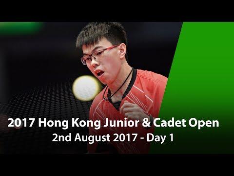 2017 ITTF Hang Seng Hong Kong Junior & Cadet Open - Day 1