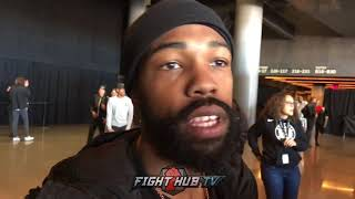 GARY RUSSELL JR EXPLAINS WHY HE'S A SPECIAL FIGHTER & TALKS JOSEPH DIAZ FIGHT!