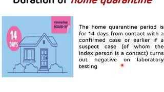 Guidelines on Home Quarantine for COVID-19 || Dr Amit Maheshwari