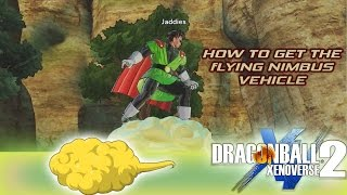 how to get the flying nimbus dragon ball xenoverse 2