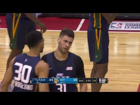 2nd Quarter, One Box Video: New York Knicks vs. Utah Jazz