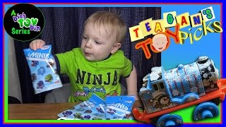 Thomas & Friends Minis Blind Bags opened by Teagan the Toddler!! by Bins Toy Bin