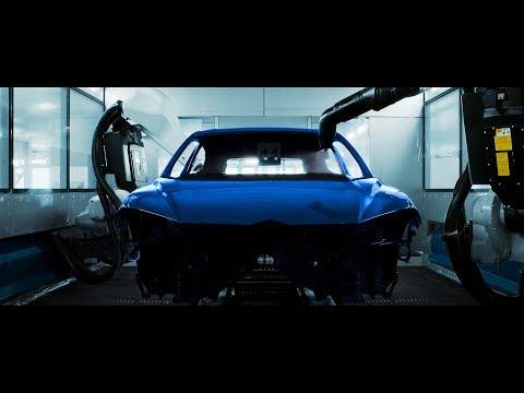 Introducing Lamborghini paint shop