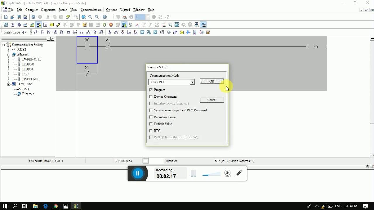 Delta Plc Online Simulator