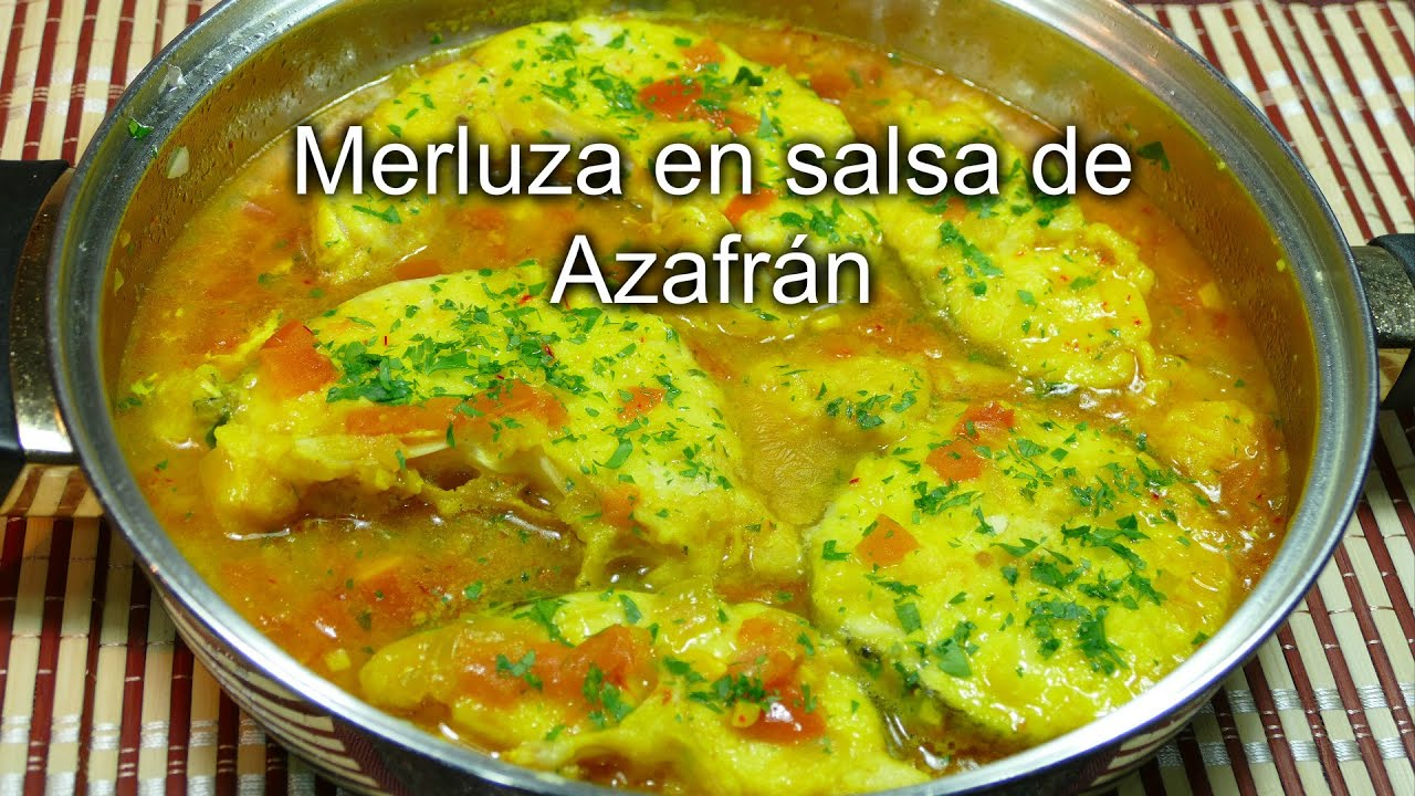 Merluza En Salsa De Azafr N