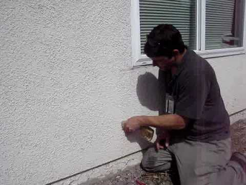 Repairing Stucco Cracks - YouTube