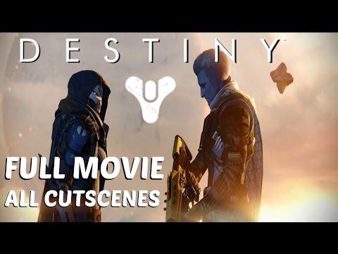 Destiny - All Cutscenes / Full Movie
