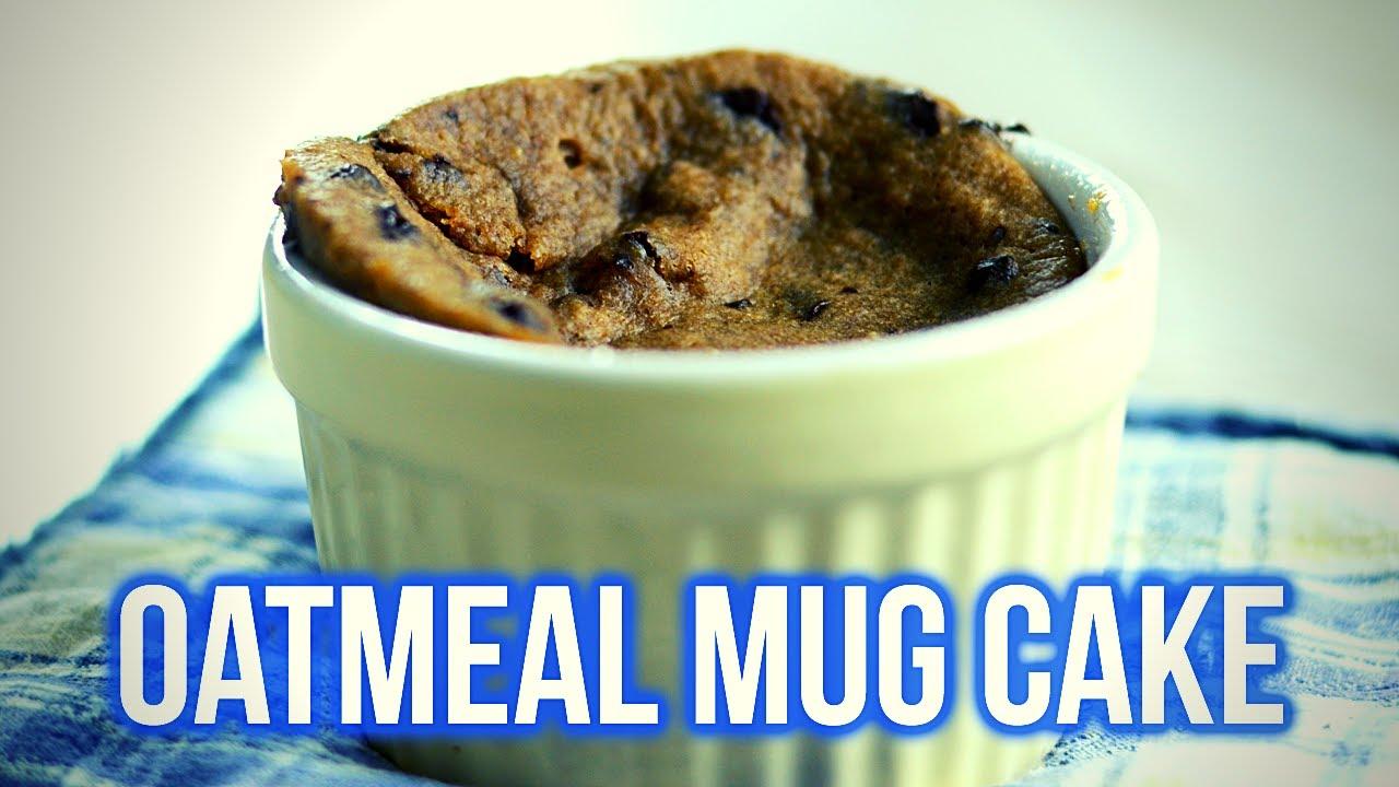 Oatmeal Cake in a Mug