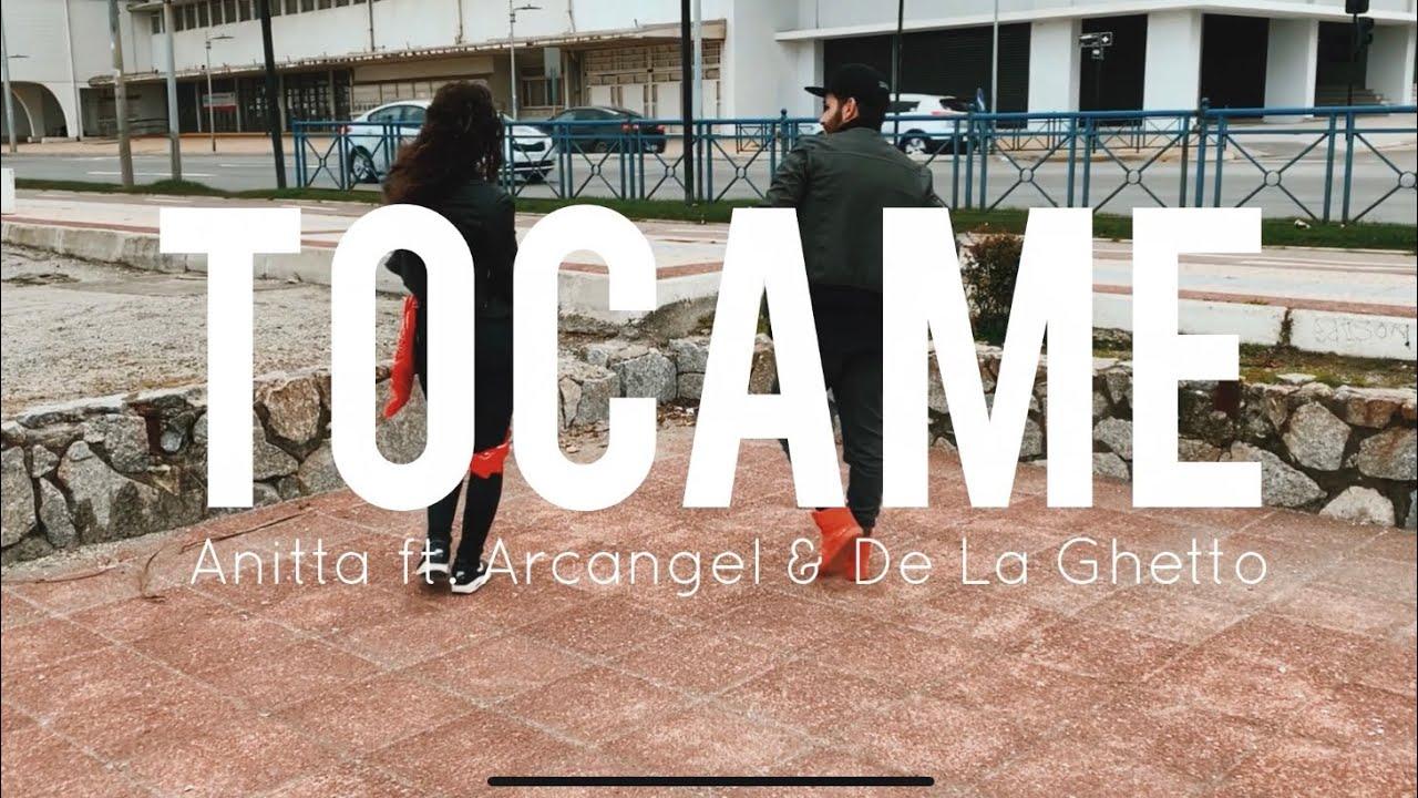 TÓCAME - Anitta ft. Arcangel & De La Ghetto | Mauri Alejandro & Fran Z Fitness | Zumba