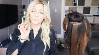 My Favorite Hair Extension Types And Application Demo