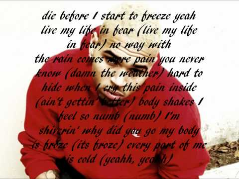 Froze - Chris Brown (Lyrics)