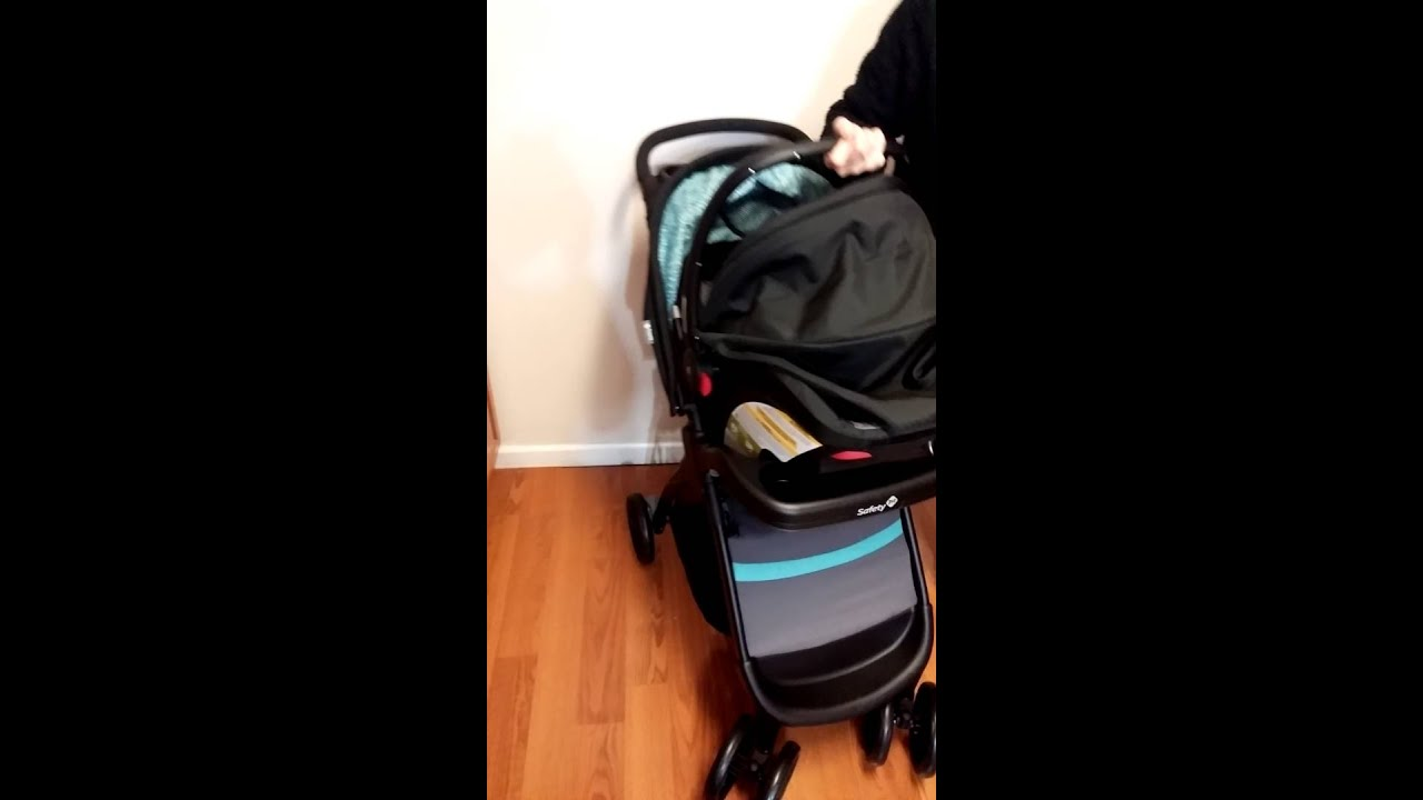Safety 1st Amble Quad Infant Car Seat and Stroller - YouTube