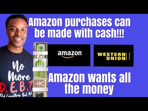 Amazon Cash Purchases Via Western Union. Global Strategy?