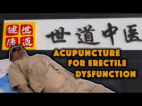 Does Acupuncture Cure Erectile Dysfunction? | Whoa! That's Weird