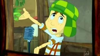 Chaves Em Desenho Animado 5ª Temporada Ep.109 - Rádio da Vizinhança