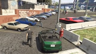 Grand Theft Auto V Online (360) | Street Car Meet Pt.19 | Penumbra Build, Drags, Rolls & More