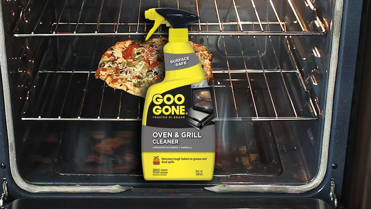 Clean Your Oven With Goo Gone Grill Cleaner