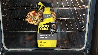 Clean Your Oven with Goo Gone Oven & Grill Cleaner