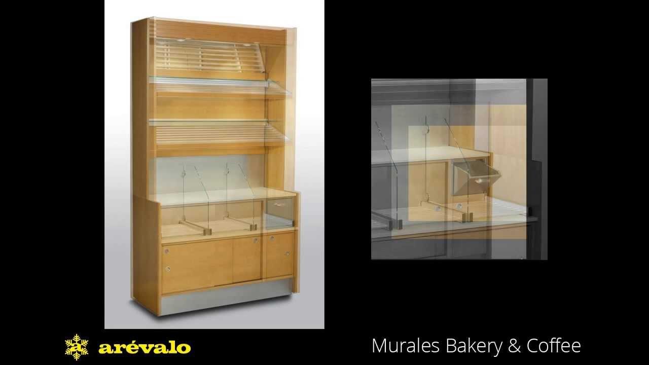 Mobiliario para panader as murales ar valo youtube for Muebles en arevalo