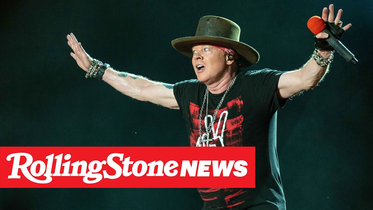 Axl Rose Defends His Political Outspokenness in July 4th Message | RS News 7/6/20
