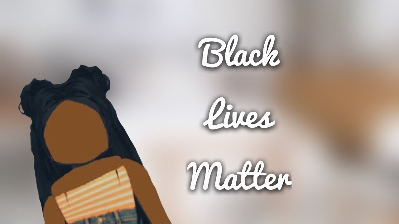Black Lives Matter Roblox Adopt Me Role Play Youtube