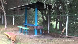 База отдыха Солнечная поляна - площадка для шашлыков, Отдых в Беларуси