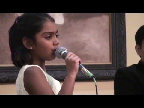6 year old Riya sings 'Sun Saathiya from ABCD 2 @ Bollywood Buffet Musical by Toronto Talent Club