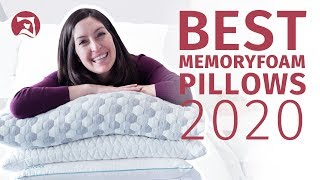 Best Memory Foam Pillows 2020 - Check All 5 Out Now!