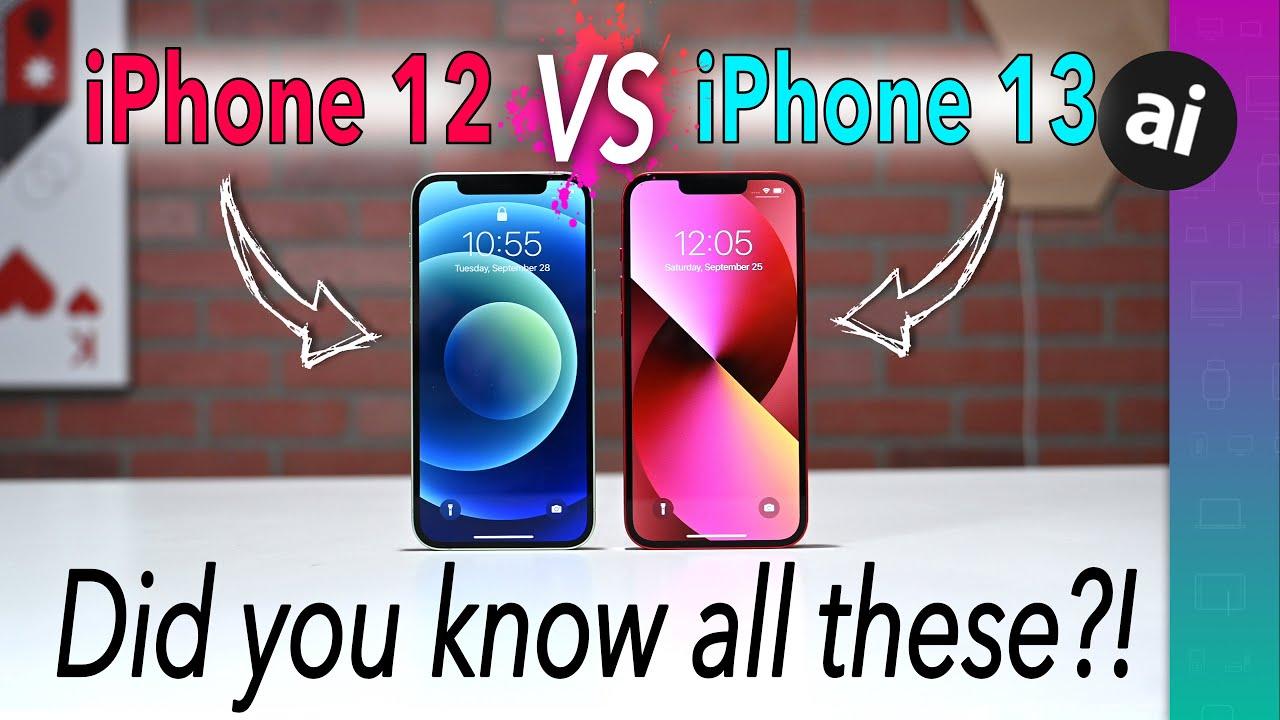 Compared: iPhone 13 & iPhone 13 mini versus iPhone 12 & iPhone 12 mini