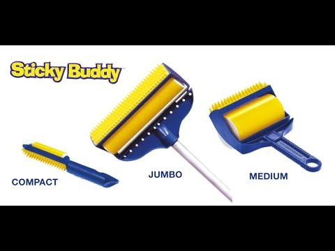 how to use sticky buddy
