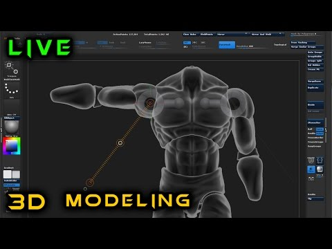 Making an Action Figure from Scratch | 3d Modeling in ZBrush | 6
