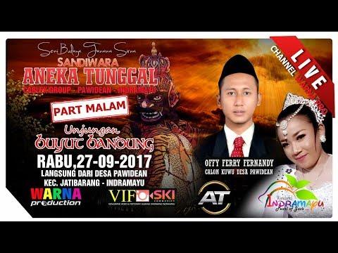 SIARAN LANGSUNG SANDIWARA ANEKA TUNGGAL PART MALAM EDISI: 27-01-09-2017