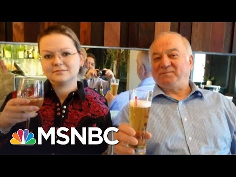 After Spy Poisoned In UK, President Trump Leaves Blasting Russia To Aides | The 11th Hour | MSNBC